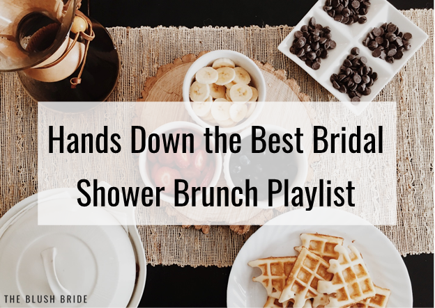 Hands Down the Best Bridal Shower Brunch Playlist